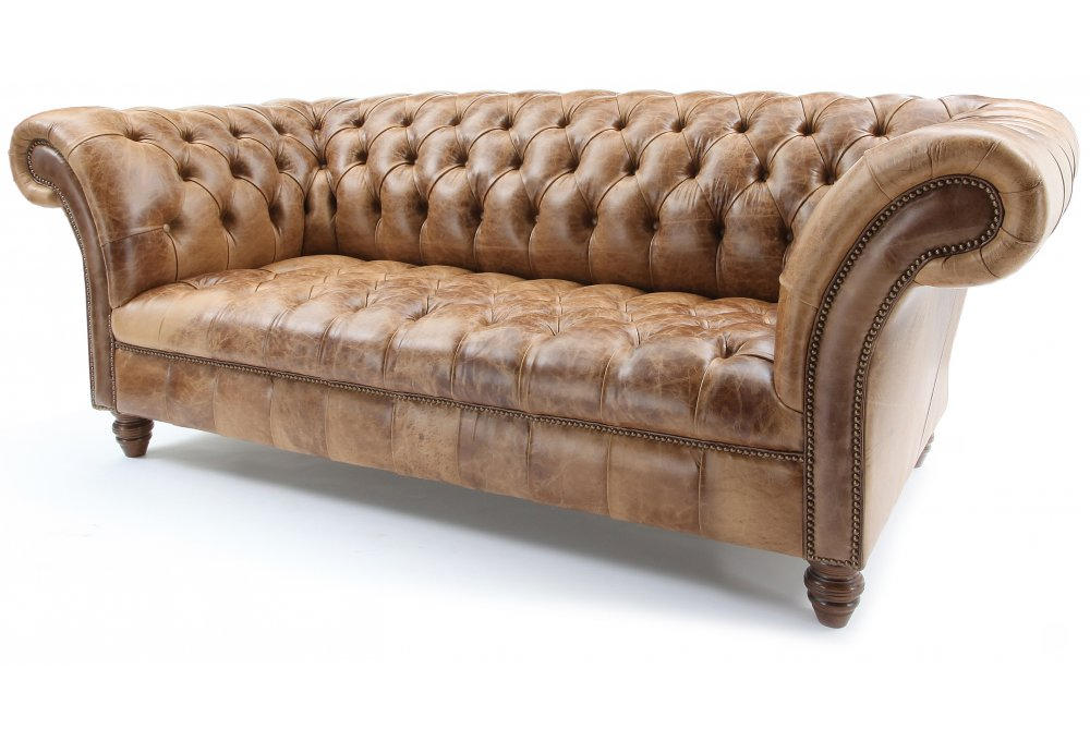 The graduate buttoned base chesterfield sofa from old boot for Couch 45 grad