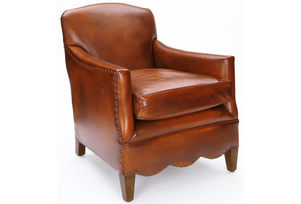Daisy Original Leather Club Chair From Old Boot Sofas