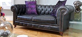 Leather Chesterfield Suites