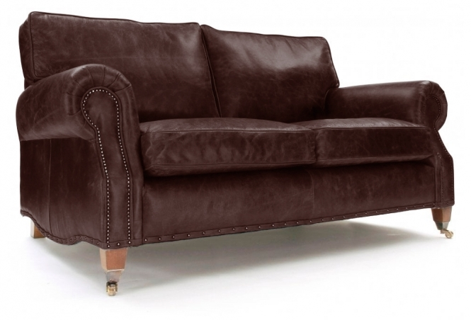 EXPRESS Hepburn 3 Seat Sofa in Hobnail Rugger Leather