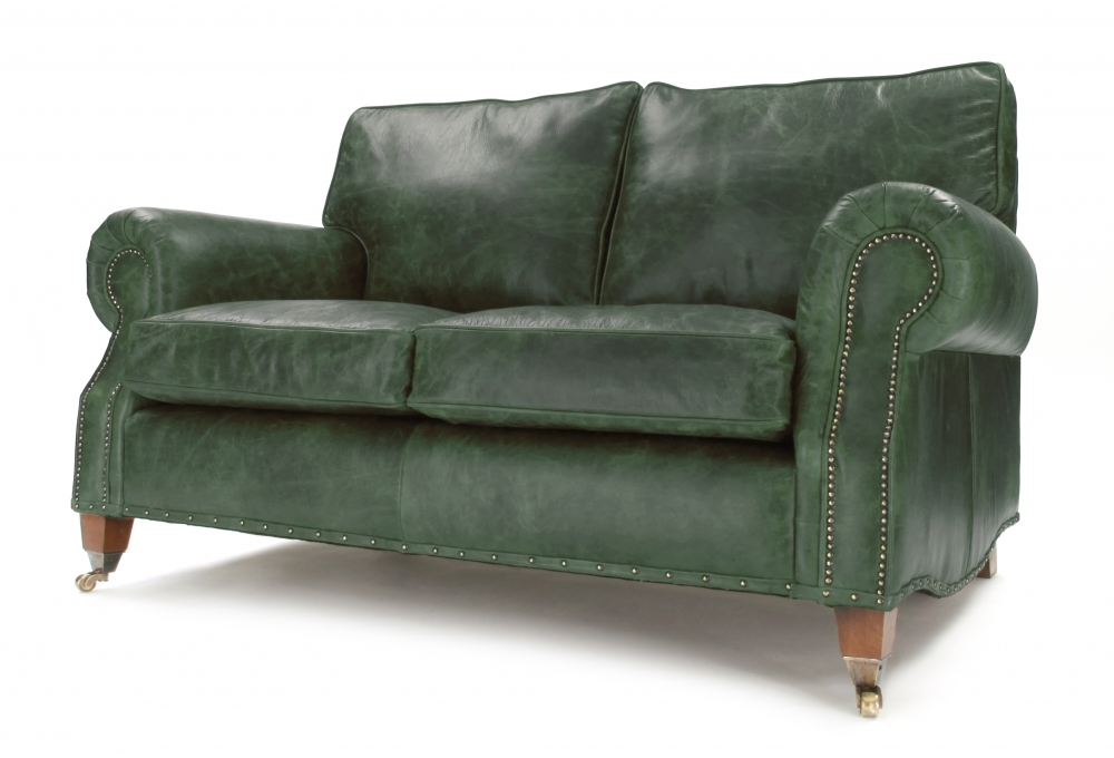 Hepburn Vintage Leather 2 Seat Sofa
