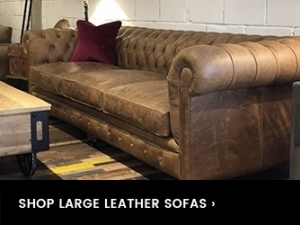 Leather Chesterfield Drop Down