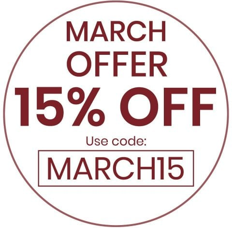 March 15% OFF