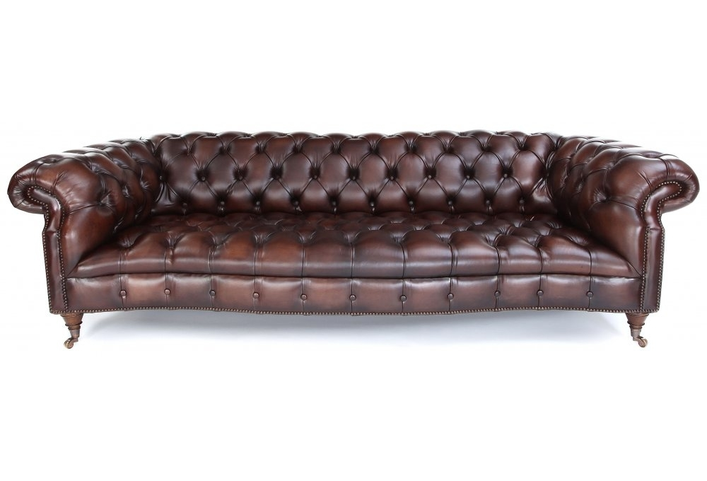 Grizzled Skipper Leather Chesterfield From Old Boot Sofas