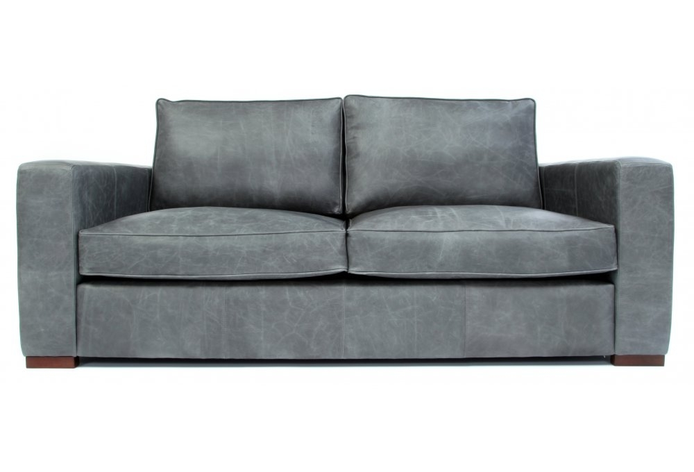 battersea vintage leather small 2 seater sofa from old. Black Bedroom Furniture Sets. Home Design Ideas