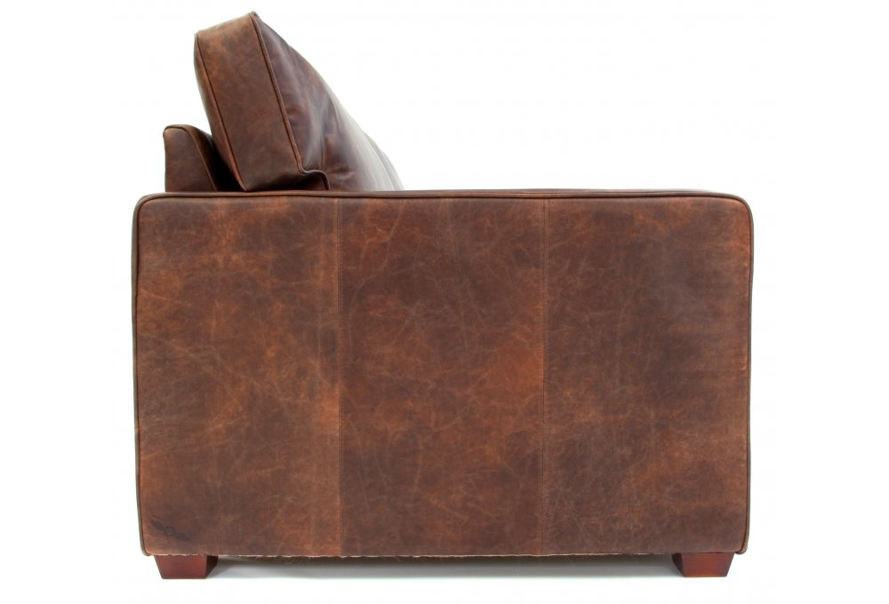 whitechapel extra large vintage leather sofa from old boot. Black Bedroom Furniture Sets. Home Design Ideas