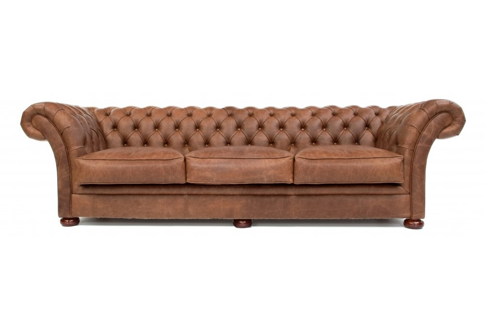 the scholar vintage leather chesterfield sofa bed from old. Black Bedroom Furniture Sets. Home Design Ideas