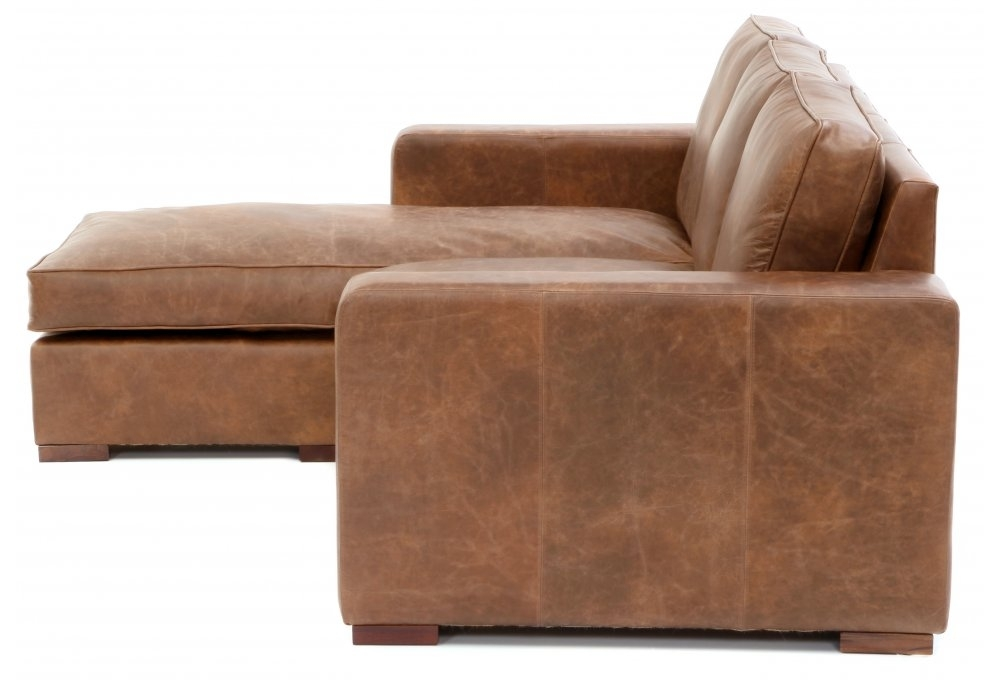 Battersea chaise end extra large leather corner sofa from for Chaise end sofa uk