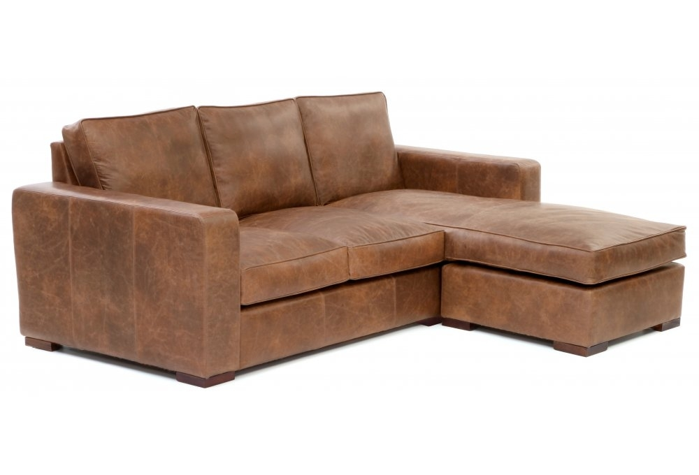 Battersea chaise end large leather corner sofa from old for Chaise corner sofas