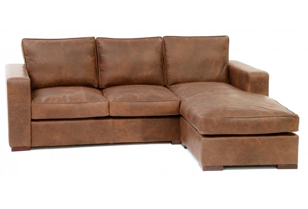 Battersea chaise end large leather corner sofa from old for Chaise end sofa bed