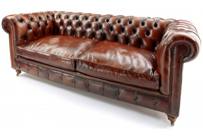 The Judge 3 Seat Chesterfield