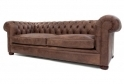 Alfie Leather Chesterfield Suite