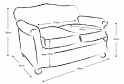 Eva 2 Seater Sofa