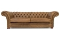 Scholar 4 Seat Chesterfield Sofa Bed