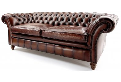 The Graduate 3 Seat Chesterfield Sofa Bed