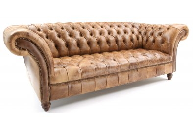Light brown leather chesterfields page 4 of 11 for Sofa 45 grad