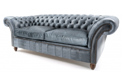 Grey leather chesterfield sofas from old boot sofas for Sofa 45 grad