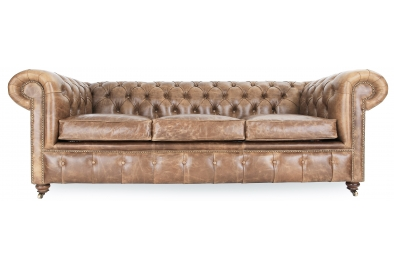 Historian Large 4 Seat Chesterfield Sofa Bed