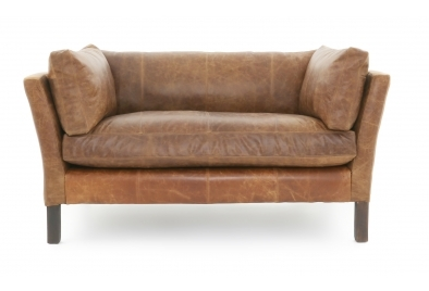 small leather sofa nutshell 2 seat sofa ... Y3L18LQO