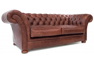 Scholar 2 Seat Chesterfield Sofa Bed