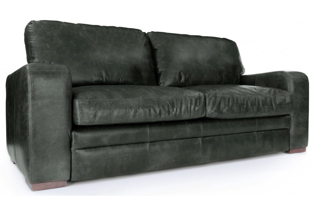 Urbanite | Vintage Leather Large 4 Seater Sofa From Old Boot ...