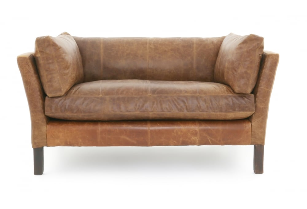 Nutshell Danish Leather Sofa From Old Boot Sofas