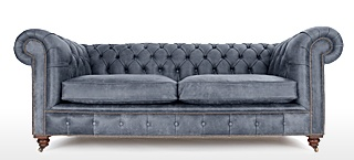 Merveilleux Grey Chesterfield Sofas