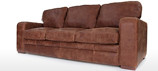 Extra Large Leather Sofas | Big Leather Sofas | Old Boot Sofas