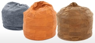 Leather Bean Bags