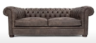 Chocolate Leather Sofas