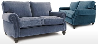 Small 2 Seater Velvet Sofas