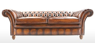 The Graduate Leather Chesterfield Sofa