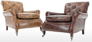 Florence Leather Club Chair