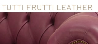 Old Boot Tutti Frutti Leather Bean Bags and Accessories