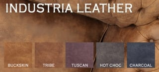 Industria Leather Leather Chesterfield Sofas