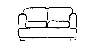 Eva Small 2 Seater Sofa