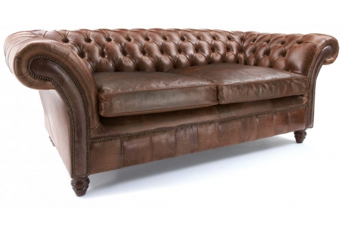 The Graduate 2 Seat Chesterfield Sofa Bed