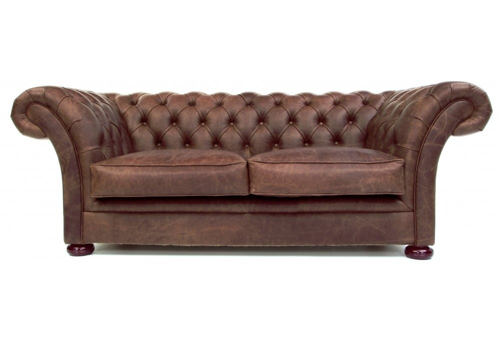 The Scholar 2 Seat Chesterfield Sofa Bed