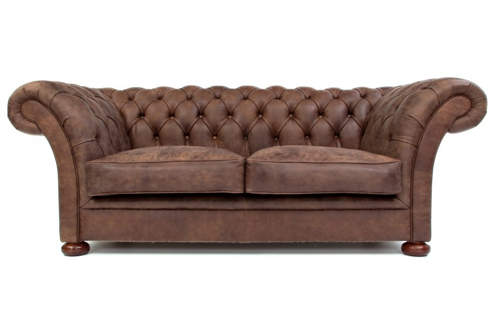 Leather Chesterfield Sofa Bed From Old Boot